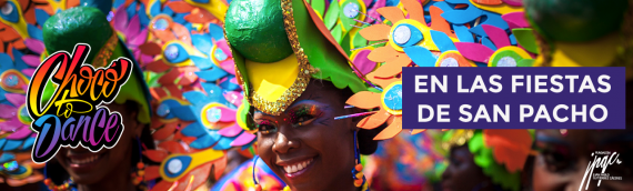 Comunicado de prensa Chocó to Dance. Fiestas San Pacho