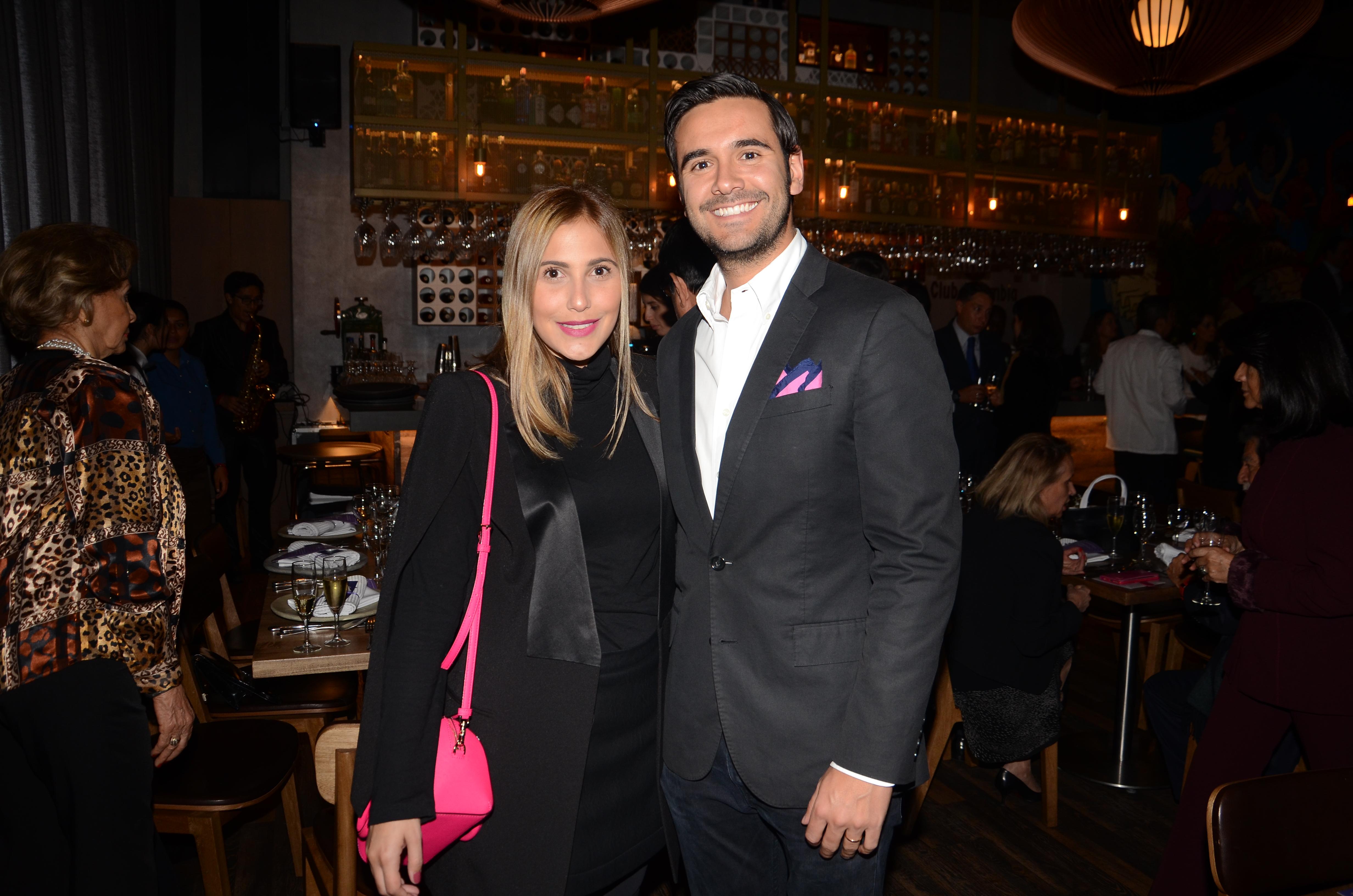 Adriana Sobrero y Andres Gutierrez