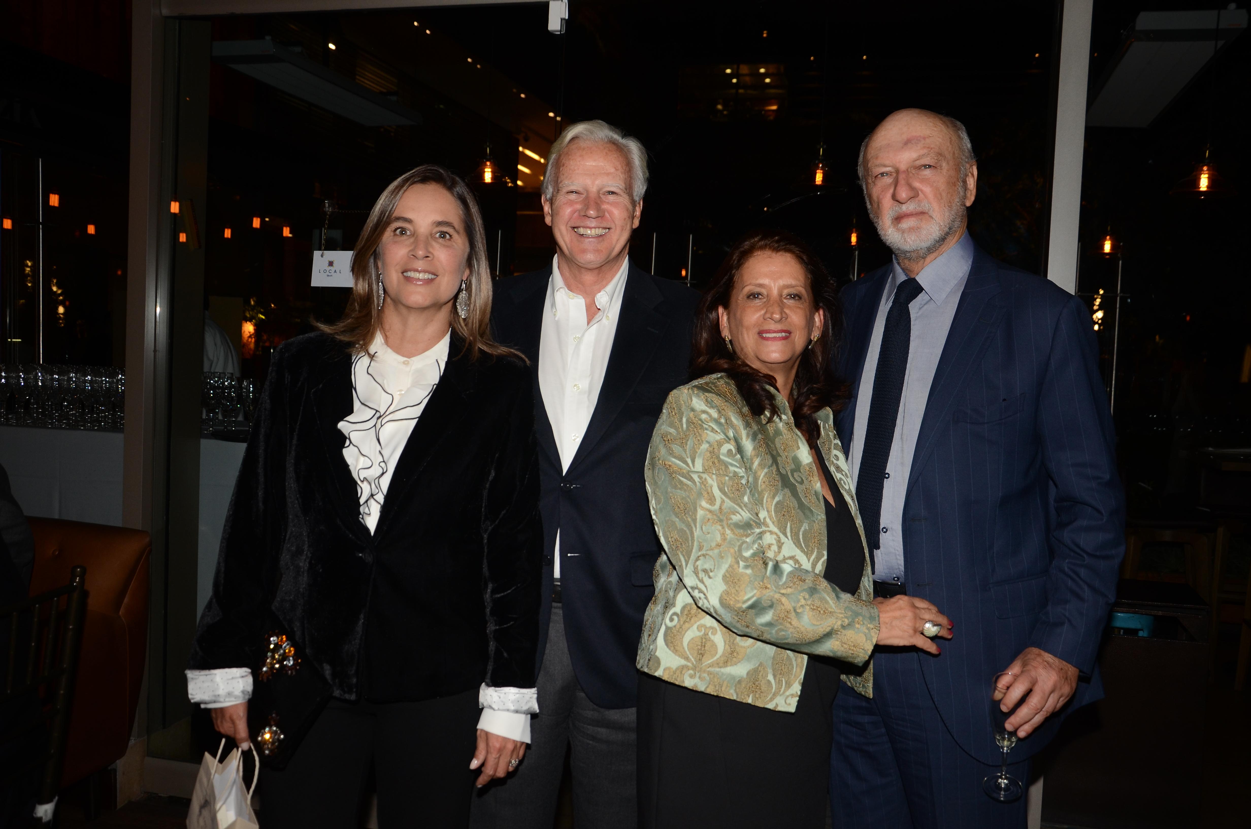Alexandra Mora, Felipe Samper, Ana Maria Restrepo y John Sudarsky