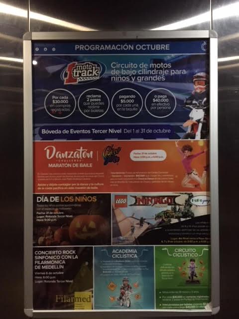 Foto afiche ascensor