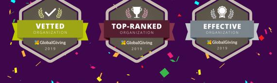 ¡Ganamos tres insignias en GlobalGiving!