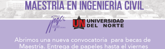 Convocatoria: Maestría en Ingeniería Civil